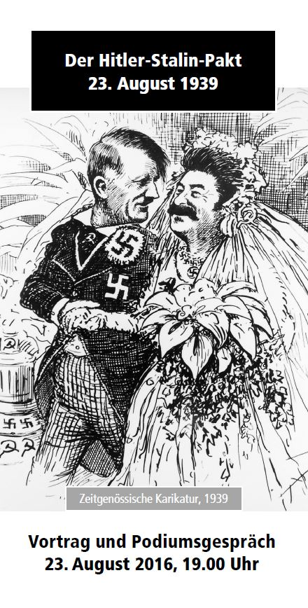 Karikatur hitler stalin pakt vor 30