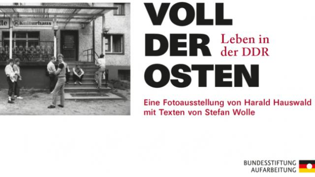 """Podiumsgespräch zur Sonderausstellung """"Voll der Osten. Leben in der DDR"""""""