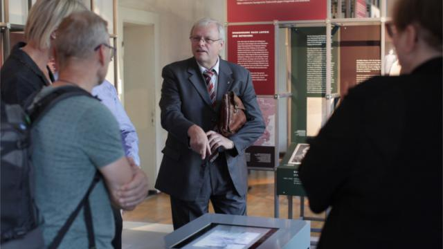 Siegfried Reiprich, Geschäftsführer der Stiftung Sächsische Gedenkstätten (Foto: Sven Gatter / © Stiftung Sächsische Gedenkstätten)