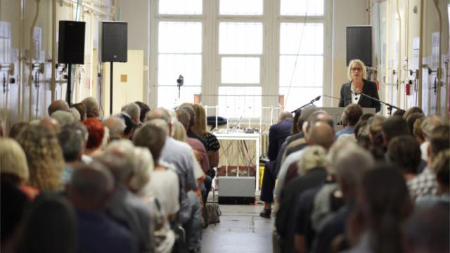 Silke Klewin, Leiterin der Gedenkstätte Bautzen (Foto: Sven Gatter / © Stiftung Sächsische Gedenkstätten/Gedenkstätte Bautzen)