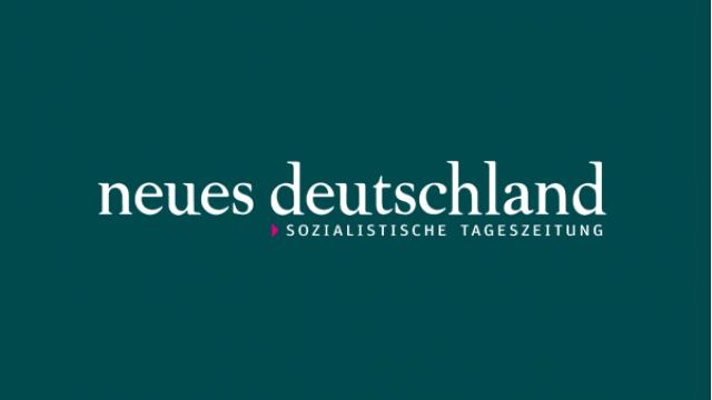 Presselogo Neues Deutschland