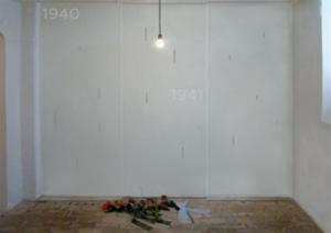 Gedenkraum in der Gedenkstätte Pirna-Sonnenstein