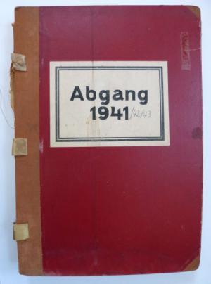 Abgangsbuch Landesanstalt Großschweidnitz, Archiv Sächsisches Krankenhaus Großschweidnitz