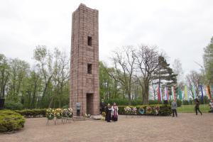 Gedenkfeier am 23. April 2019 in der Gedenkstätte Ehrenhain Zeithain