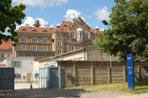 Gedenkstätte Bautzen Einzelfreihöfe in der Stasi-Sonderhaftanstalt Bautzen II (© Stiftung Sächsische Gedenkstätten/Gedenkstätte Bautzen)