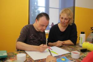 Michael Malepszy und Kerstin Franke-Gneuß