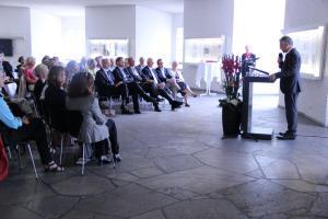 Empfang der Stadt Frankfurt zur Ausstellung am 4. September