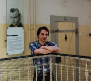 Philipp Stoppe, Teilnehmer des FSJ Politik 2014/15 in der Gedenkstätte Bautzen