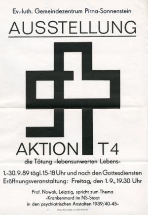 Ausstellungsplakat 1989