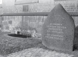 Gedenkstein zur Erinnerung an die Opfer des KZ-Außenlagers Dresden, Ulrich Fritz