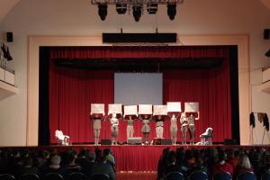 """Theateraufführung """"Das Kinderkrankenhaus von Rothenburgsort. Oder: Keine Ahnung!"""" in der Riesaer Stadthalle ("""